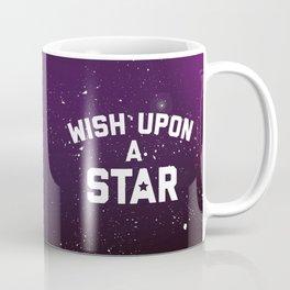 Wish Upon Star Quote Coffee Mug