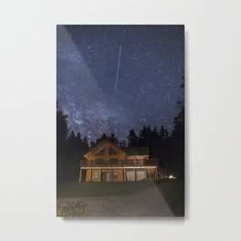 Adirondack Milky Way Metal Print