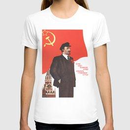 Russia, URSS Vintage Poster (4) T-shirt