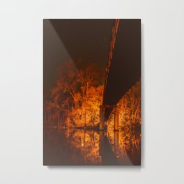 Night Sparks Metal Print