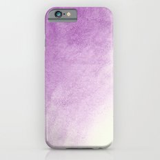 purple watercolor iPhone 6s Slim Case