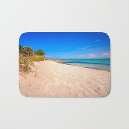 Beautiful Island Day Bath Mat