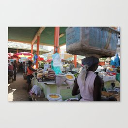 Merchants of Africa Canvas Print