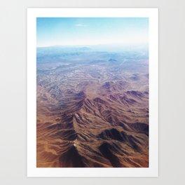 Desert Dreams Art Print