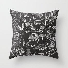Saugatuck - Vacation Throw Pillow