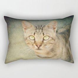 Feral Cat no 2 Rectangular Pillow