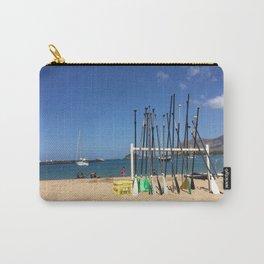 Hawaiian Shore Carry-All Pouch