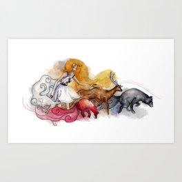 Four Winds Art Print
