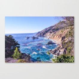 California Dreamin - Big Sur Canvas Print