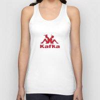 kafka Tank Tops featuring Kafka by le.duc