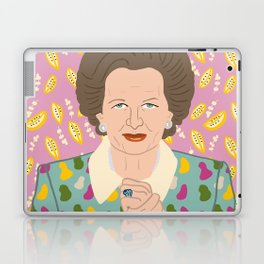 Margaret Thatcher Laptop & iPad Skin
