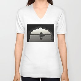 A moment suspended in time Unisex V-Neck