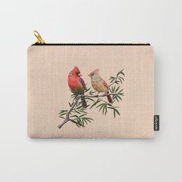 Northern Cardinal Mates Carry-All Pouch