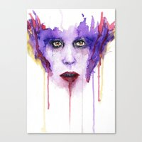 mad Canvas Prints featuring MAD by Arthur Braud
