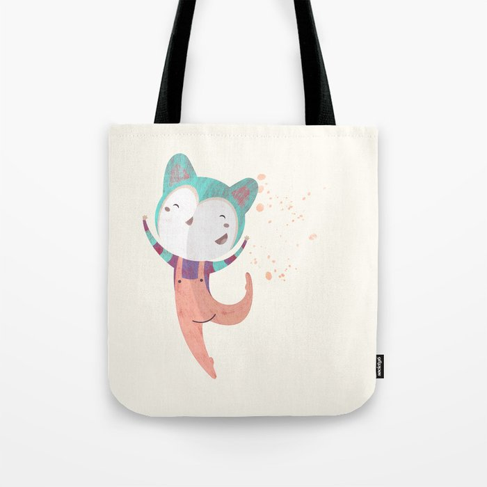 Dance Dreams (Cream) Tote Bag
