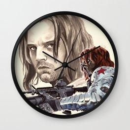 Winter Soldier Wall Clock