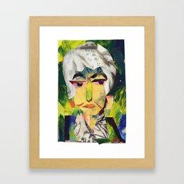 Bea Arthur #PrideMonth Collage Portrait Framed Art Print