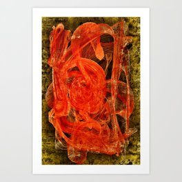 The Casso Art Print