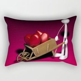 Barrow of Love Rectangular Pillow