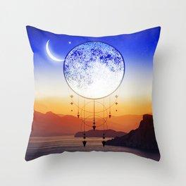 Mystic Moon #1 Throw Pillow
