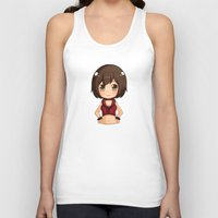 vocaloid Tank Tops featuring Meiko by Nozubozu