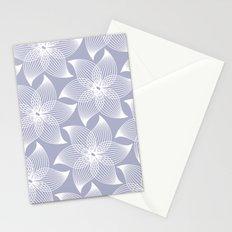 Pale flower pattern Stationery Cards
