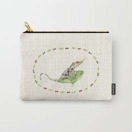The Horned Anole Carry-All Pouch