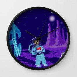 Long Distance Valentine Wall Clock