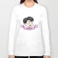 snk Long Sleeve T-shirts featuring ♥ shaddup ♥ by kiokushitaka