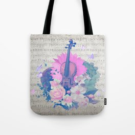 "VIOLIN by collection ""Music"" Tote Bag"