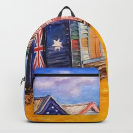 Beach Houses Backpack