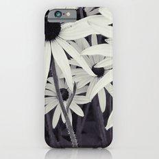 Daisies black and white Slim Case iPhone 6s