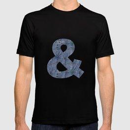Blue Jeans Denim Pocket Patchwork T-shirt