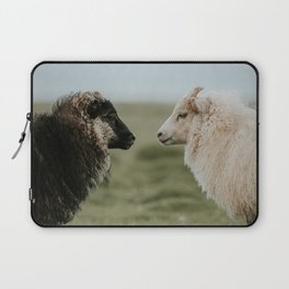 Sheeply in Love - Animal Photography from Iceland Laptop Sleeve