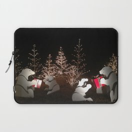 Polar Bear Christmas Laptop Sleeve