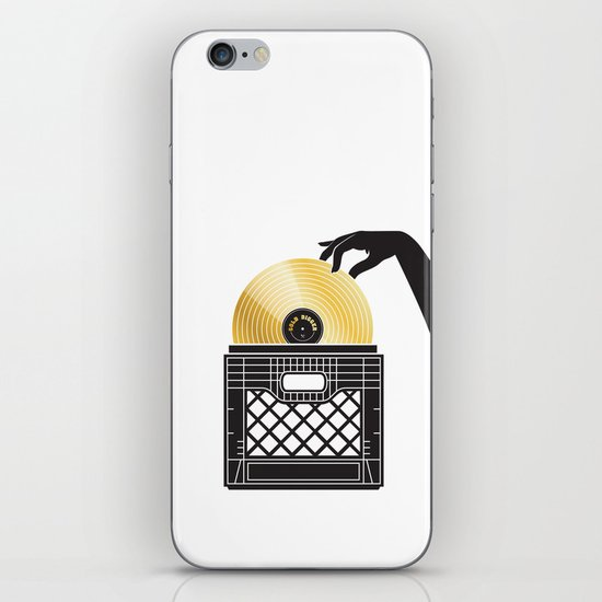 Gold Digger iPhone & iPod Skin