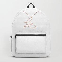 Love Pendant Backpack