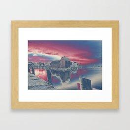 Motif #1 color explosion Framed Art Print
