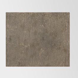 Rustic Tree Bark Pattern Throw Blanket