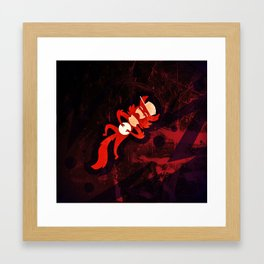 The Madness Framed Art Print
