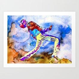 Freddie Painting Art Print