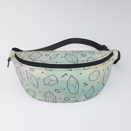 Crystals & Constellations Fanny Pack