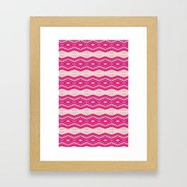 Mix Pink Framed Art Print