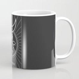 The Strenght Minimal Deck Tarot Coffee Mug