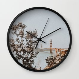 san francisco, california Wall Clock