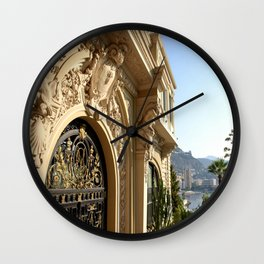 Details on the Monte-Carlo Casino Wall Clock