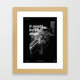 Abstraction Series #9 Framed Art Print
