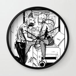 An Office Affair Wall Clock