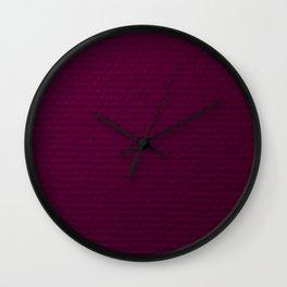 Electric Purple Wall Clock