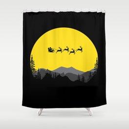 Night series - Merry Christmas Shower Curtain